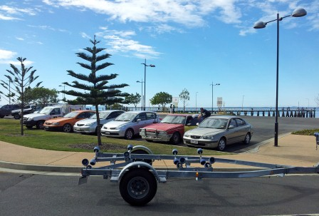Six Cars Illegally Parked